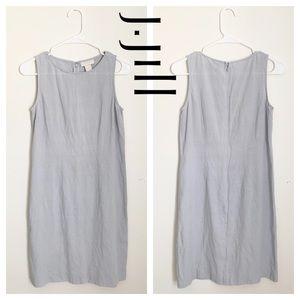 J. Jill Summer Sleeveless Linen Sheath Dress